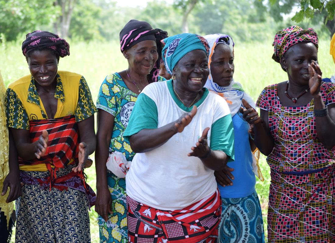 Mit Kleinbäuerinnen und Kleinbauern in Burkina Faso