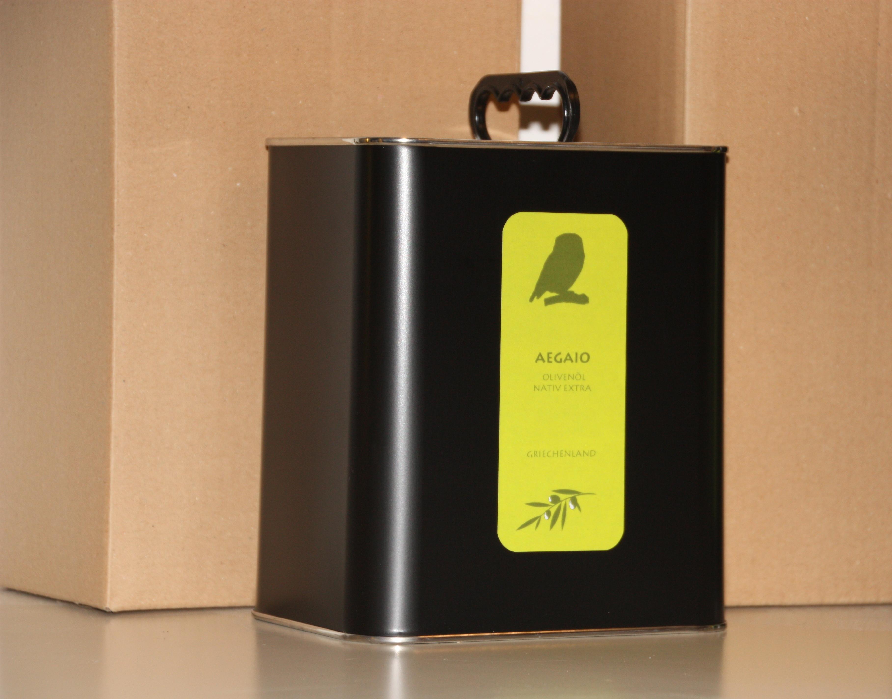 Fruchtiges Olivenöl aus Lesbos neu im 1-Liter Kanister.