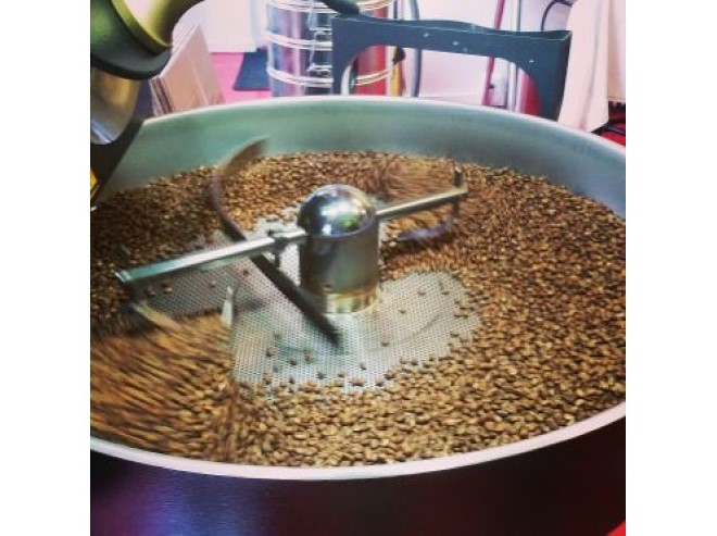 Careful roasting of artisinal Chin coffee - delivered to your doorstep!