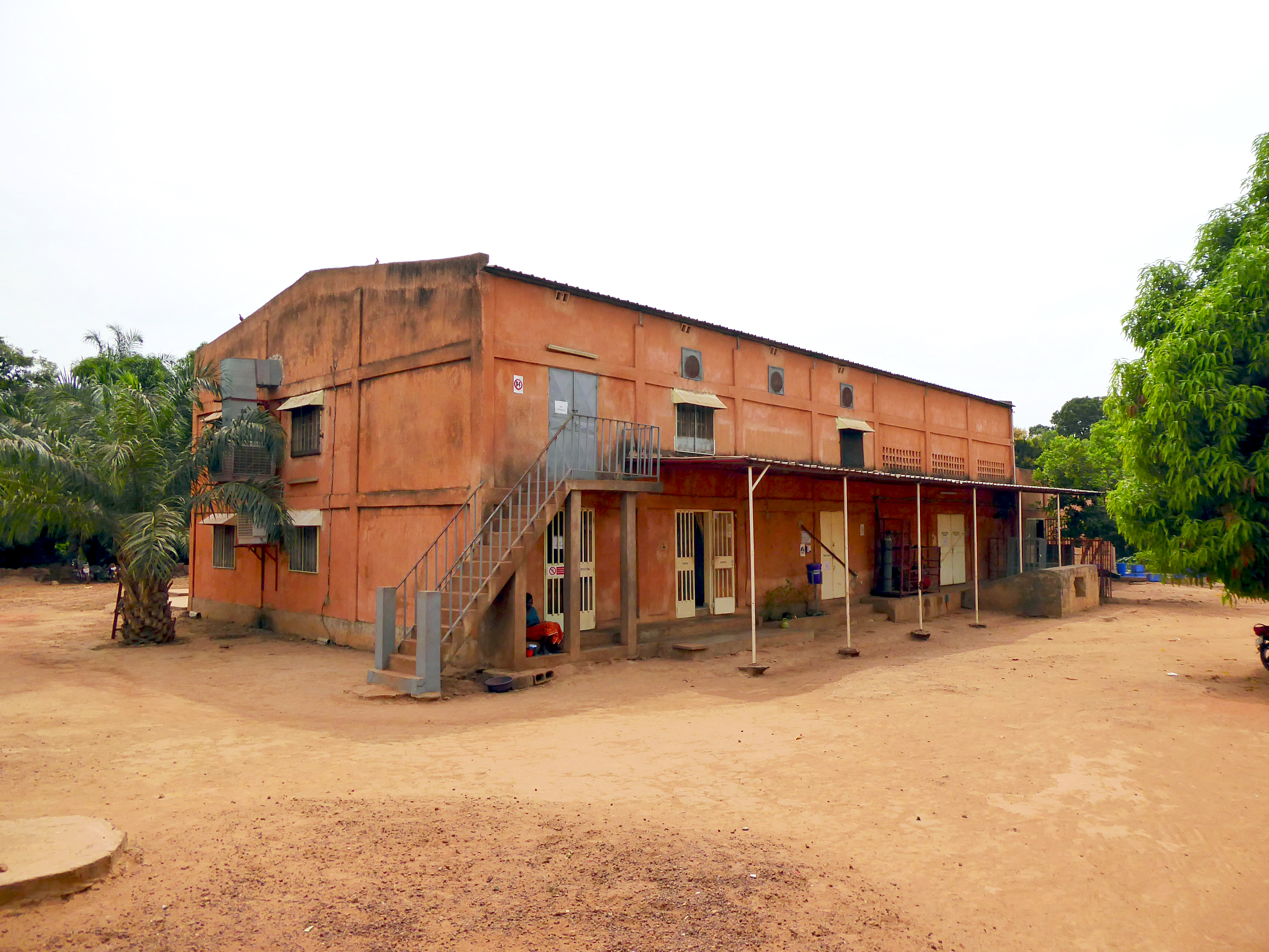 This is our cashew factory in Burkina Faso.