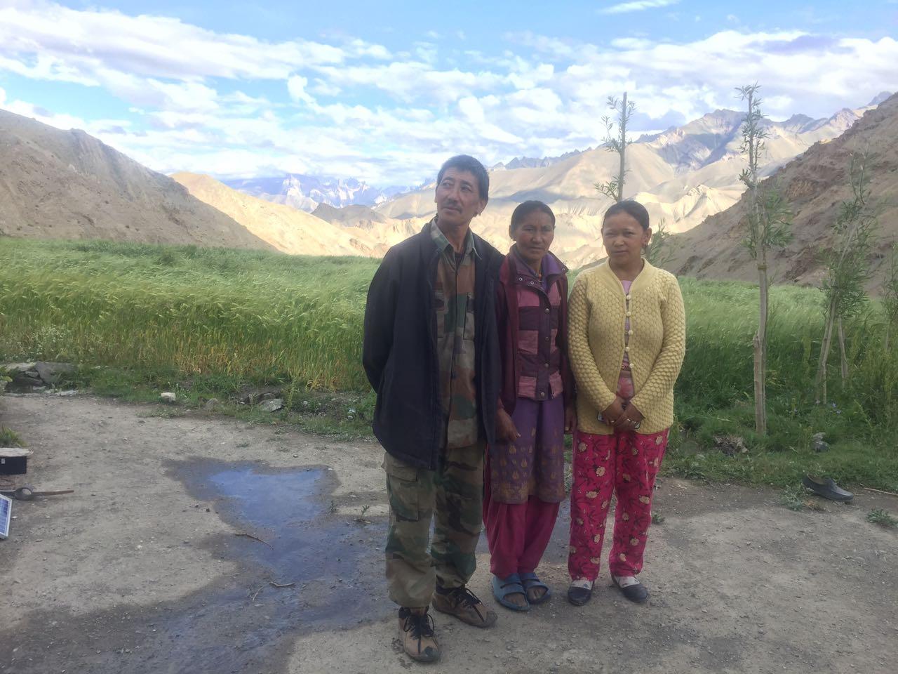 Familie Shingsherpa