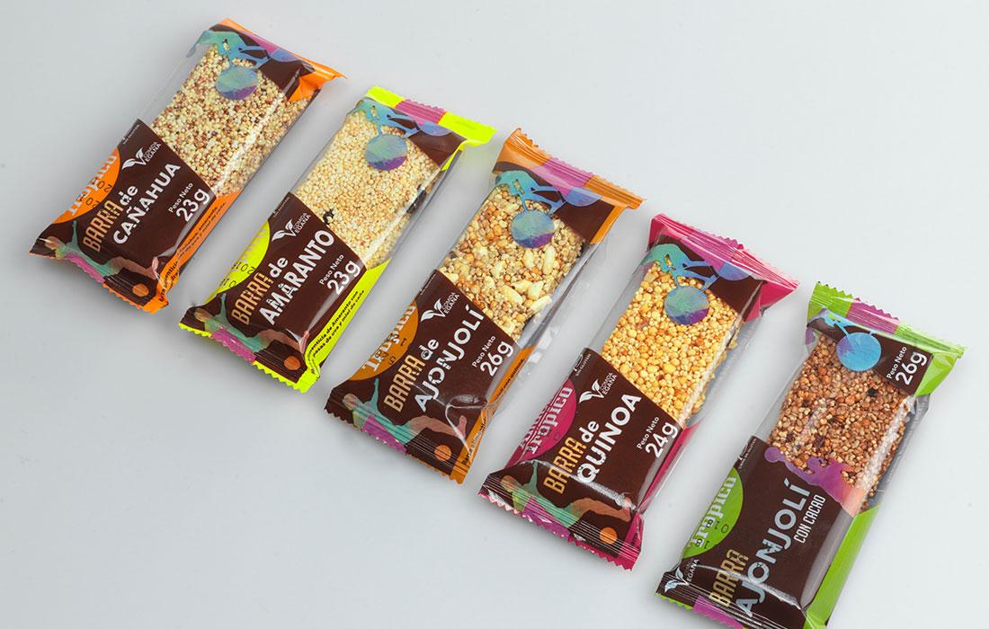 Getreideriegel aus Quinoa, Qanua oder Amaranth