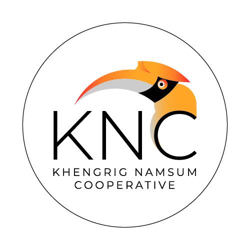 Der für Zhemgang typische Nashornvogel ist das zentrale Motiv unseres neuen KNC-Logos.